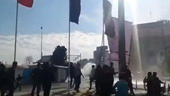 Антиправительственные акции в Иране. Видео