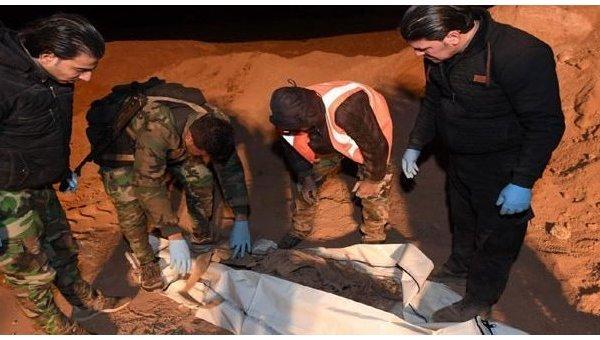 В Сирии найдены два крупных захоронения жертв ИГ