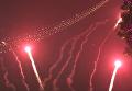 Появилось видео празднования Нового 2018 года в центре Киева. Видео
