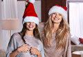 Ангелы Victoria's Secret представили рождественскую коллекцию белья
