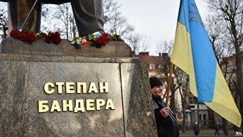 Мероприятия во Львове по случаю Дня рождения Бандеры