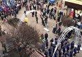 В Ивано-Франковске в 14:00 памятника Степану Бандере на Европейской площади состоялось торжественное вече. Видео