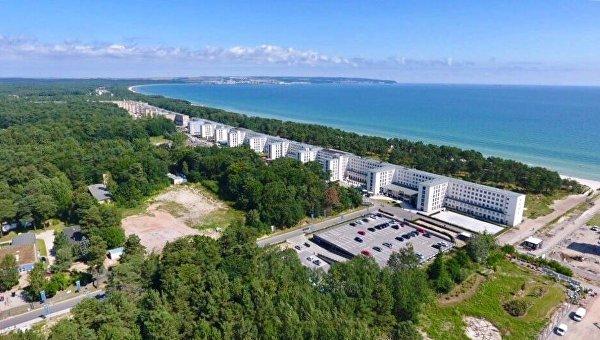 Комплекс зданий на острове Рюген