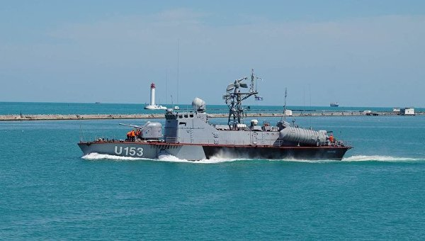 Ракетный катер ВМС Украины Прилуки