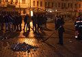Софийская площадь в Киеве после новогодних гуляний