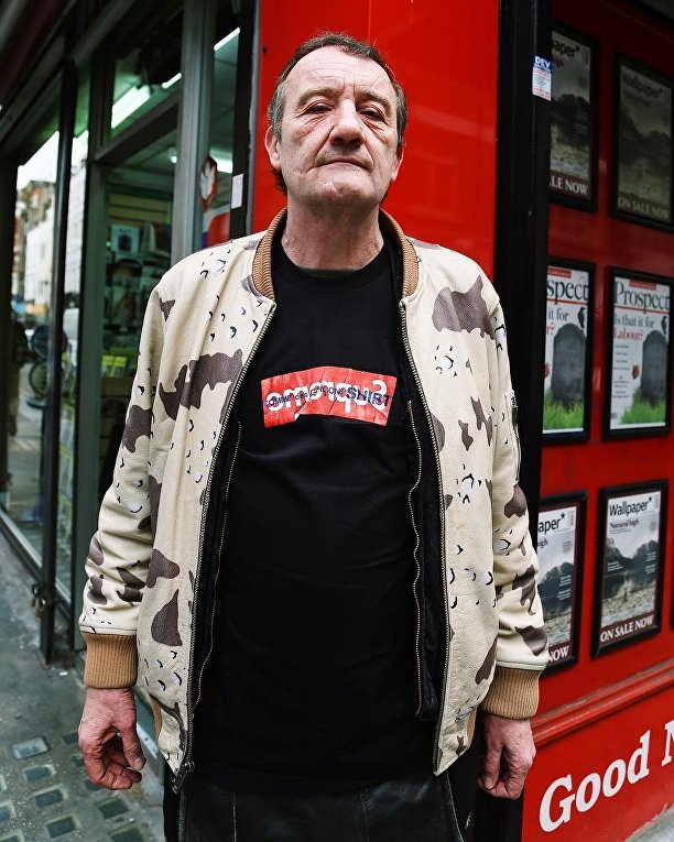 57-летний продавец овощей стал иконой уличной моды