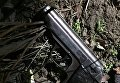 Пистолет, изъятый у жителя Николаева, который угрожал бывшей жене