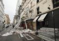 На Францию обрушился шторм Элеонор