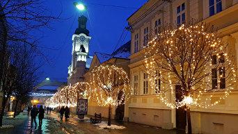 Новый год в Ужгороде