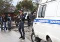 Чеченская полиция на месте происшествия. Архивное фото