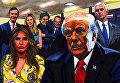 Иллюстрация книги Огонь и ярость: в Белом доме Трампа