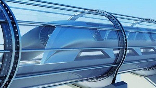 Сверхскоростной транспорт Hyperloop