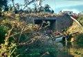 Микроавтобус упал в водохранилище в Мексике