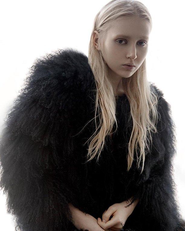 Украинская модель Елизавета Кузьменко