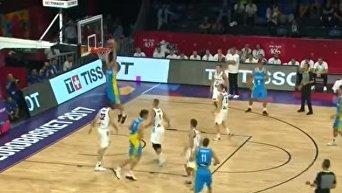 Лучшие моменты мужской сборной Украины по баскетболу. Видео