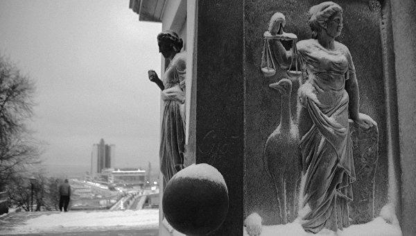 Одесса после празднования Нового года