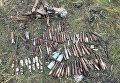 Полиция обнаружила тайник с боеприпасами в Донецкой области
