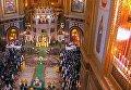 Патриарх Кирилл совершает ночное Рождественское богослужение. Видео