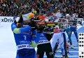Бронзовое выступление украинской биатлонистки на этапе Кубка мира. Видео