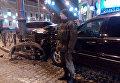 В Одессе внедорожник на скорости влетел в 3 припаркованные авто