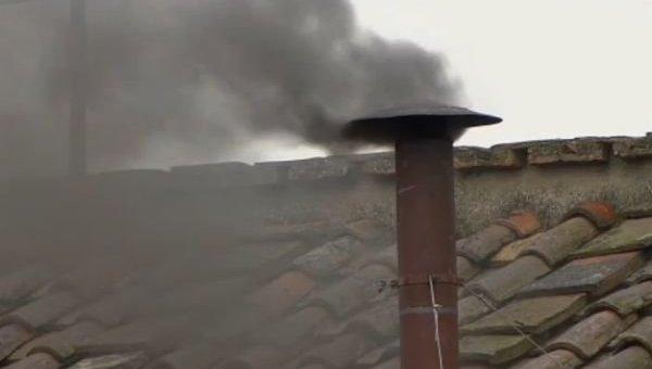 Крыша дома в Запорожье на месте инцидента