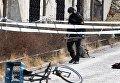 Взрыва возле метро в Стокгольме