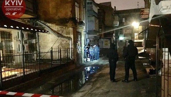 Убийство на ул. Константиновской в Киеве