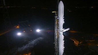 SpaceX вывела на орбиту секретный спутник для правительства США. Видео