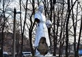 В Гайвороне неизвестные разбили памятник советским воинам