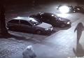 Появился момент, как джип протаранил припаркованные машины в Одессе. Видео