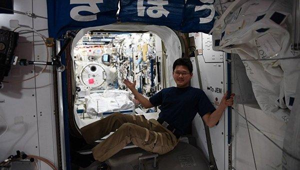 Японский космонавт Норисигэ Канаи