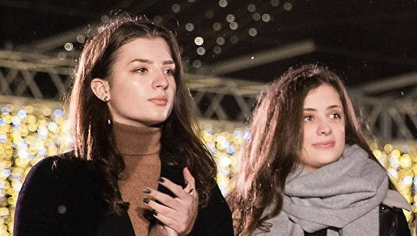 Дочери Порошенко Евгения и Александра