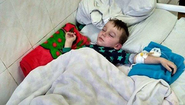 Всамом начале года вКиеве доставлены вбольницу 12 детей, заболевших корью