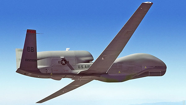 Беспилотник США RQ-4 Global Hawk. Архивное фото