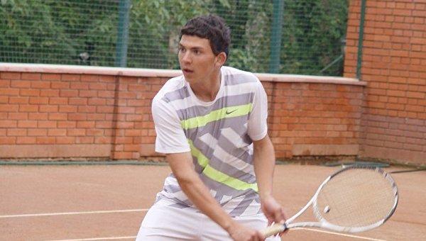 Украинский теннисист Юрий Джавякян