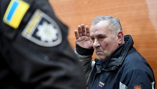 Юрий Россошанский во время суда