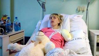 Жительница Волыни Алена Романенко потеряла руку на заработках в Польше