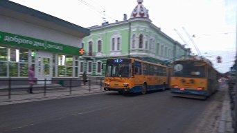 Общественный транспорт Тернополя