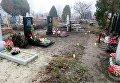 В Харьковской области задержали парня, неоднократно осквернявшего могилы