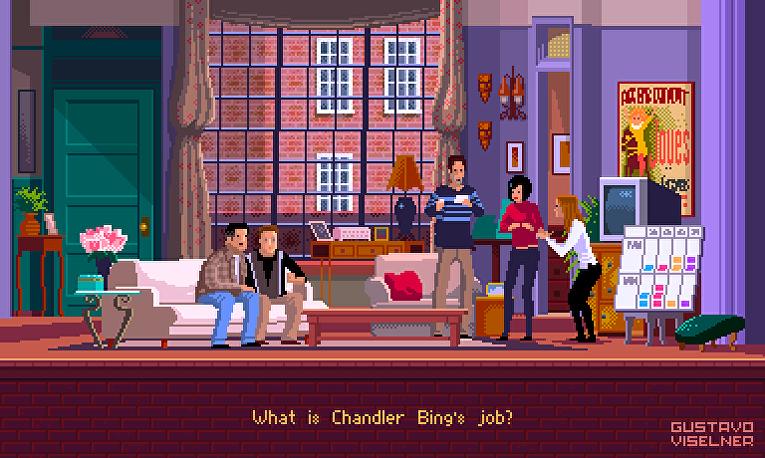 Как выглядели бы телесериалы, если бы их показывали на игровой приставке