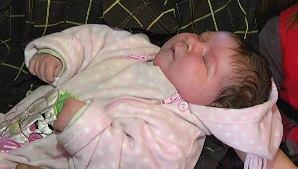 В Запорожской области родился ребенок весом более 7 килограммов