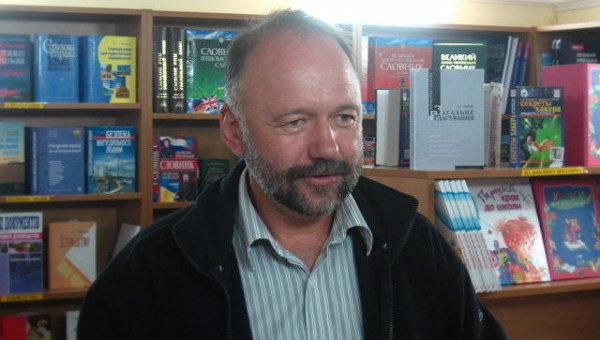 Писатель и кинематографист Андрей Курков