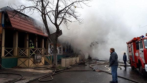 Пожар в Одессе, 11 января 2018