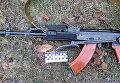 Оружие, из которого парень устроил стрельбу под Харьковом, 10 января 2018