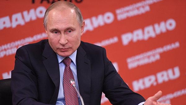 Путин поведал опредпочтениях вотдыхе нановогодних праздниках