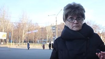 Жители Запорожья о войне в Донбассе. Видео