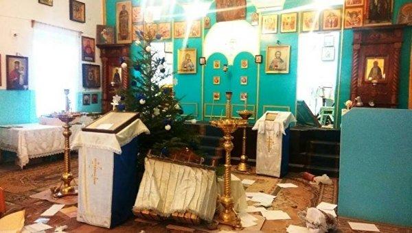 10 января был ограблен и осквернен Свято-Покровский храм Украинской Православной Церкви в городе Черноморск