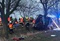Три человека погибли, около 30 ранены в результате ДТП в Праге