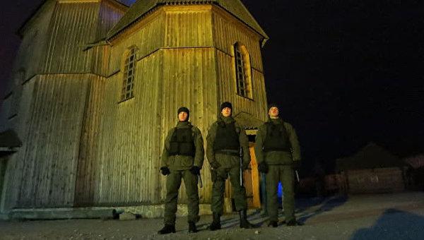 Нацгвардия перешла в усиленный режим охраны храмов в Запорожье