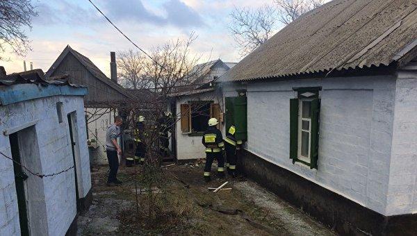 В Днепре в пожаре погибла женщина